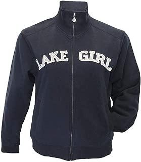 navy lake girl sweatshirt