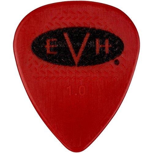 EVH 022-1351-205 Signature Picks, 6 Pack, Red/Black, 1.00 mm