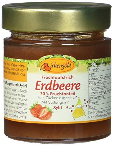 Birkengold Fruchtaufstrich Erdbeer (1 x 200 g)