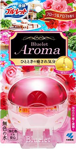 液体ブルーレットおくだけアロマ トイレタンク芳香洗浄剤 本体 フローラルアロマの香り 70ml