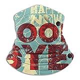Good Bye 2020 Neck Apron Balaclava Hat Men's Ladies Scarf Winter Ski Windproof Headband and Earmuffs Black