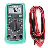 YEZIO Medidor Digital Prueba de Resistencia de Voltaje AC DC FY823A multímetro Mini Pantalla Digital de Alta precisión del multímetro de AC DC Corriente para Laboratorio, Instrumento