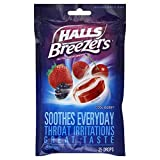 Halls Breezers Drops Cool Berry - 25 ct, Pack of 1
