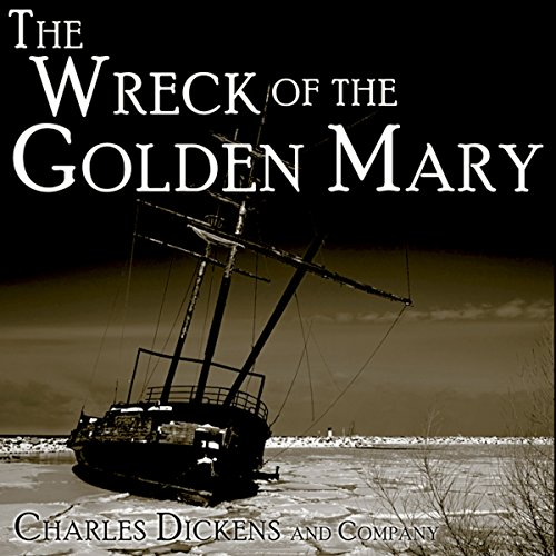 The Wreck of the Golden Mary audiobook cover art