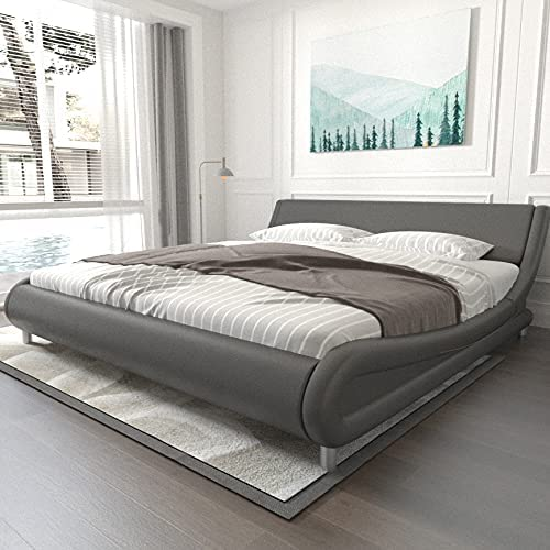 Modern Bed Frames Full with Ranking TOP6 Faux Curved Headboard overseas Le Adjustable