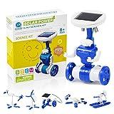CIRO Solar Robot Science Kit Educational Toys for Kids Beginners, STEM Learning Building Toys for Boys Girls