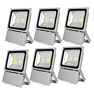 Sanzo® High Power 100W LED Flood Light, Wateproof IP65, Daylight White, Outdoor Lighting, Security Lights, Landscape Floodlight