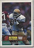 BRYANT YOUNG -DT/DE- NOTRE DAME NFL Career 1994 thru 2007 (6 TIME PRO BOWL, ALL-PRO, and SB CHAMP) Limited Edition #526 of 4000 - Signed SUPERIOR ROOKIE CARD... rookie card picture