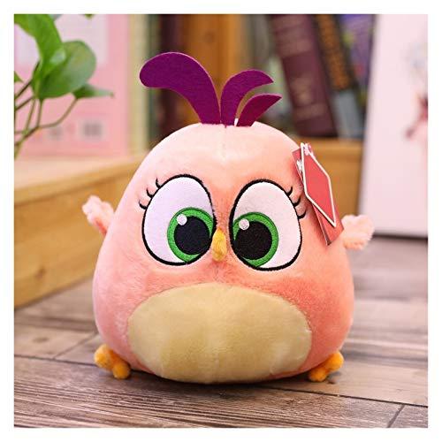 Ysguangs Juguete de Peluche Angry Bird Llush Doll Toys Soft Lindo Juego Relleno Animal Pájaro Bebé Playmate Muñecas de Dibujos Animados Niños Regalo (Color : Black, Height : 20cm)