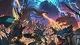 XHJY Total War Warhammer II Puzzle De Madera-Juguetes Educativos para Adultos Juegos Infantiles-Juguetes Educativos Decoración De Rompecabezas-500 Piezas(52 x 38 cm)