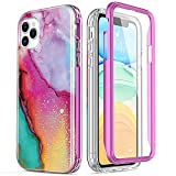 ESDOT iPhone 12 Pro Max Case with Built-in Screen Protector,Military Grade Cover with Nice Designs for Women Girls,Protective Phone Case for Apple iPhone 12 Pro Max 6.7