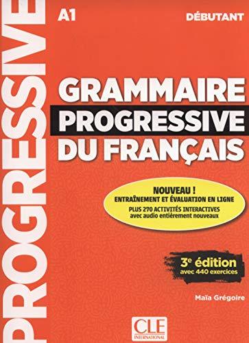 Grammaire progressive du français. Intermédiaire. Per le Scuole superiori. Con CD-Audio [Lingua francese]: Livre debutant + CD
