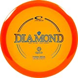 Latitude 64 Opto Diamond Disc Golf Driver | Beginner and Kid Friendly Frisbee Golf Disc | 160g and Under | Stamp Color May Vary (Orange)