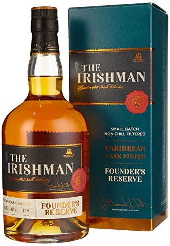 The Irishman FOUNDER'S RESERVE Caribbean Cask Finish Whisky (1 x 700 ml)