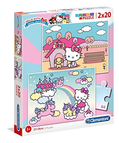 2 Puzzles 20 Piezas Hello Kitty (24765.3)