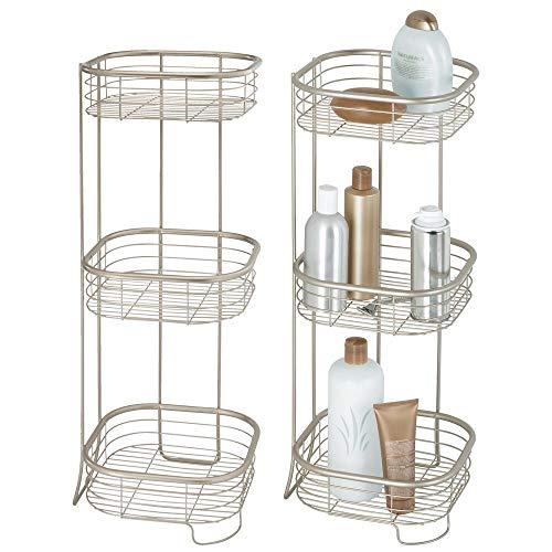 estanterias auxiliares para baño