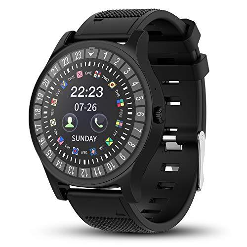Smartwatch AIVEILE, Orologio Intelligente con slot SIM, Schermo touch con Notifiche Camera...