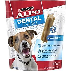 Purina ALPO Dental Chews Small/Medium Adult Dog Snacks