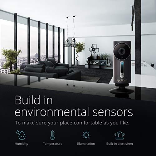 SpotCam 1080P Full-HD IP-Kamera / WLAN-Überwachungskamera Outdoor mit Smart Home Integration - 5