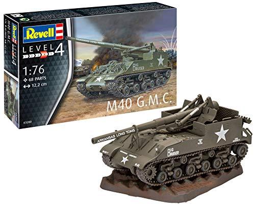 ドイツレベル 1/76 アメリカ陸軍 M40 G.M.C プラモデル 03280
