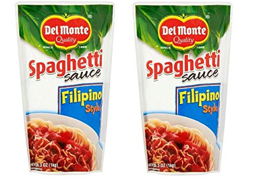 Del Monte Spaghetti Sauce Filipino Style, 35.3 oz Bag (pack of 2)
