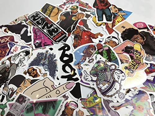 Niet Herhalen Getij Merk Hip-hop Verkopen Graffiti Stickers Voor Oude Stijl Laptop Koffer 50 Vellen