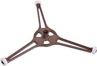 JUNESUN Plateau en Forme de Triangle de Four à Micro-Ondes pour Plaque de Verre Plat pour pièces à Micro-Ondes de 24,5 cm
