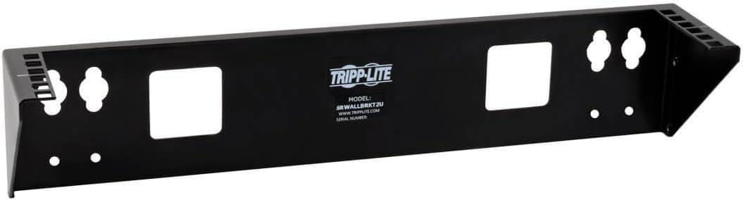 Tripp Lite Wallmount Rack 2U Vertical Rack Bracket 175lb Capacity Model SRWALLBRKT2U