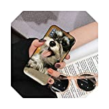 Lovely Dogs Schnauzer - Carcasa para iPhone 8, 7, 6, 6S Plus, X, 5S, se 2020, XR 11, 12 Pro XS MAX-A2-For 12 Pro Max