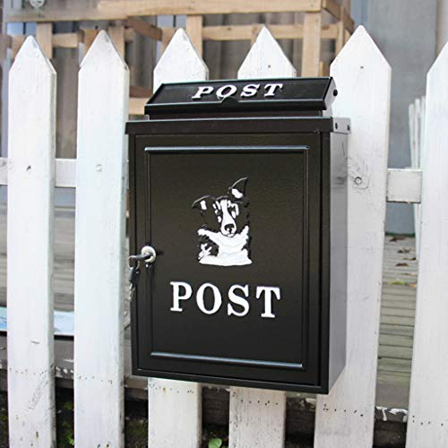CKH brievenbus van gegoten aluminium, voor brievenbus, brievenbus van Husky