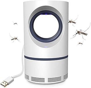 Chlry Mata Mosquitos Moscas electrico, Anti Mosquitos, con luz Ultravioleta, conexión USB, para Dormir bebé, hogar, Interior, hogar de luz Asesino de Mosquitos