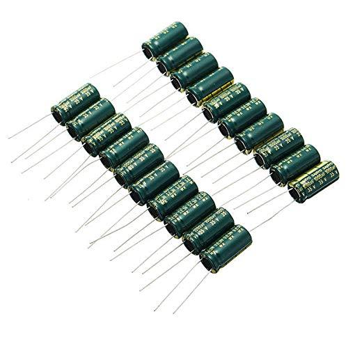 JJBHD Electronic Accessoires & Supplies 200 stücke 35V 1000uß Hochfrequenz lange Lebensdauer Kondensator LCD Motherboard Stromversorgung Elektrolytische Kondensator ROHS 10 x 20mm Um Ihnen die Qualitä
