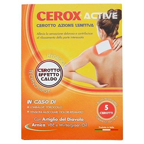 Cerox Active Cerotto Azione Lenitiva - 1 Confezione Da 69 G