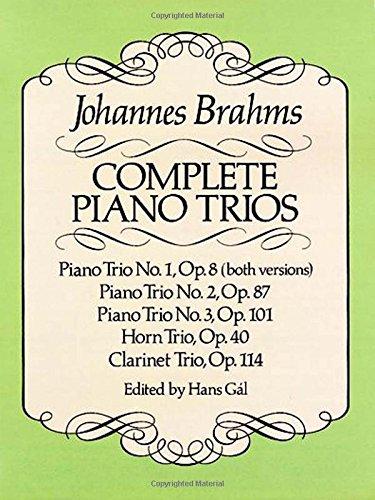 COMP PIANO TRIOS (Dover Chamber Music Scores)