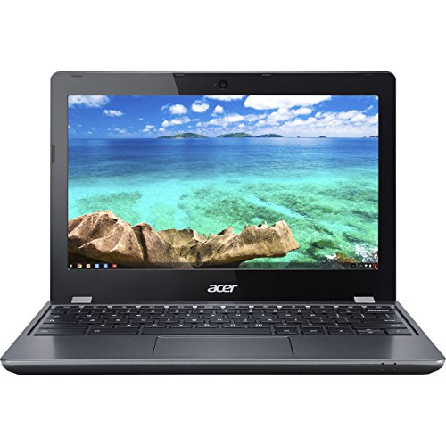 "Acer Chromebook 11.6"" Intel Celeron 1.5 GHz, 4GB RAM, 16 GB SSD  C740-C4PE (Renewed)"