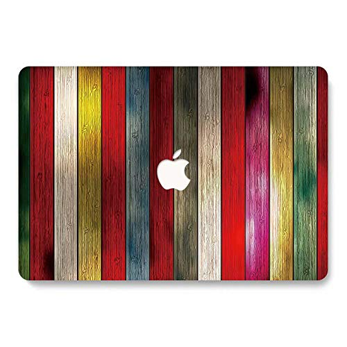 MacBook Pro 15 Case Retina Display 2012-2015 Ver A1398, Jiehb Plastic Hard Shell Case Only Compatible MacBook Retina 15 inch (NO Touch) Model: A1398 - Wood Color
