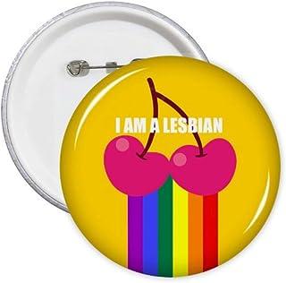 Lot de 5 badges arc-en-ciel I Support Transgenre LGBT