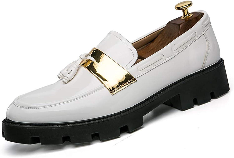 Easy Go Shopping Herren Halbschuhe Schuhe Prise Quaste Slip on on Loafer,Grille Schuhe  rücksichtsvoller Service