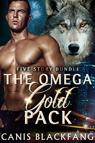 The Omega GOLD Pack - Gay M/M Shifter Mpreg Werewolf Romance (5 Story Bundle) (English Edition)