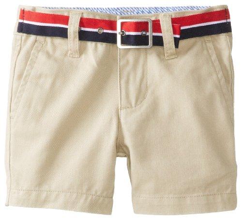 Tommy Hilfiger Baby Boys' Charlie Short, Travel Khaki, 18 Months