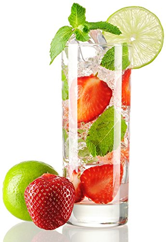 Hostelvia - Professionelle Bar-Gläser, Catering Gläser für Cocktail, Vodka, Longdrink, Aiala ~22 cl (220ml), 6 Stück