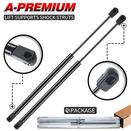 A-Premium Hood Bonnet Lift Supports Shock Struts Springs Replacement for Ford F-150 2004-2008 Lincoln Mark LT 06-08 2-PC Set