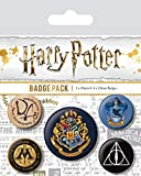 Pyramid International BP80485 Harry Potter Hogwarts - Insignia multicolor (10 x 12,5 x 1,3 cm)