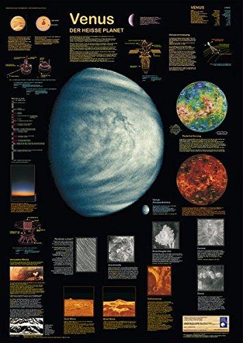 Venus: Der heisse Planet (Planet-Poster-Box)