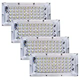 NG NEELGAGAN LED 50W Flood Light, IP-65 Outdoor Pack of 4 (Cool White)