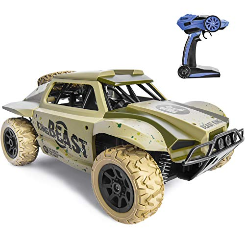 Remote Control Car for Boys 4WD Large Size RC Car Off Road 25KM/H High Speed Racing Car, 4x4 Remote...