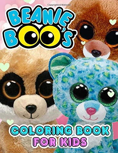 Beanie Boo\'s Coloring Book: Adult Beanie Boos Books with Fun, Easy, Relaxing Coloring Pages