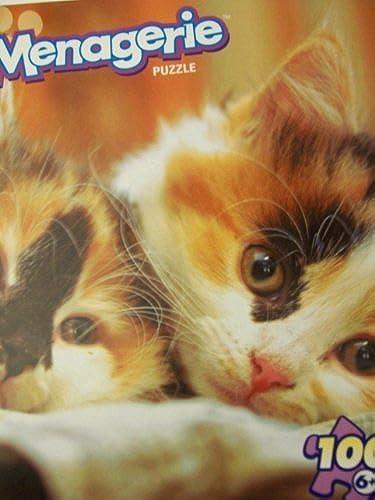 calidad garantizada Menagerie 100 Piece Animal Puzzle Puzzle Puzzle  Here Kitty, Kitty by Menagerie  servicio considerado