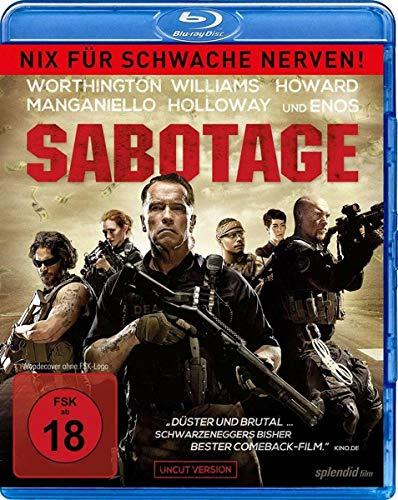 Sabotage  - Nix für schwache Nerven! [Blu-ray]
