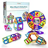 Kidoola 94pc Magnetic Building Block Toy Set – Kids Magnet Construction Jigsaw Game for Boys and Girls –...